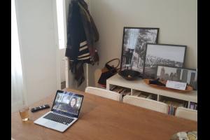 Bekijk appartement te huur in Den Haag Obrechtstraat: Achterhuis in Duinoord  ingang - € 850, 60m2 - 333449
